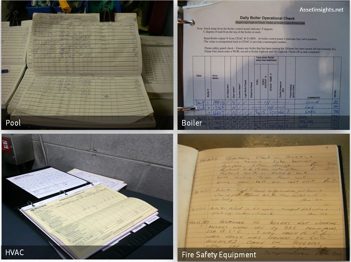 examples of logbooks