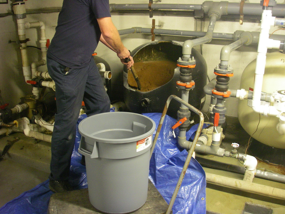 Sand filter replacement